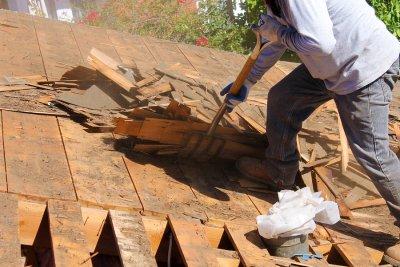 cedar - roof - installation